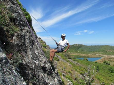 abseiling Monchique
