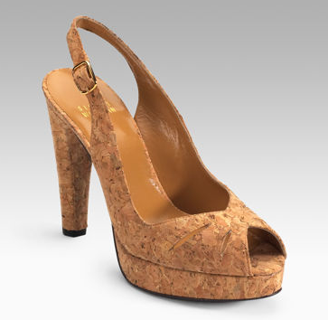 cork used for shoes