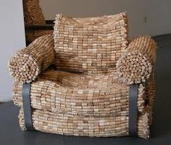 furniture made of cork